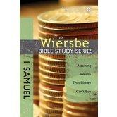 1 Samuel, Wiersbe Bible Study Series, by Warren W. Wiersbe