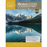 NIV Standard Lesson Commentary 2020-2021: Deluxe Edition, by David C. Cook, Paperback