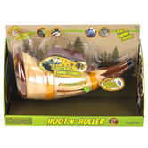 Toysmith, Hoot n Holler Animal Caller Toy, 9 inches