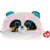 Ty, Bamboo the Panda Bear Sequin Accessory Bag, 8 inches