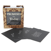 Christian Art Gifts, Promises for Today Boxed Cards, 1 1/2 x 3 3/4 inches, 100 Cards