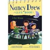 A Star Witness, Nancy Drew Clue Book, Book 3, by Carolyn Keene and Peter Francis, Paperback