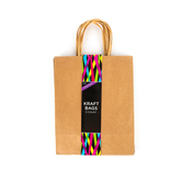 Medium Kraft Gift Bag - 5 Pack