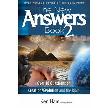 The New Answers Book 2, by Ken Ham, Paperback