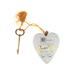 Demdaco, Every Love Story Art Heart, White, 4 inches