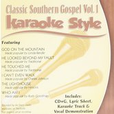 Classic Southern Gospel Volume 1, Karaoke Style, As Made Popular by Various Artists, CD+G