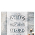 Salt & Light, May The Words of My Mouth Church Bulletins, 8 1/2 x 11 inches Flat, 100 Count