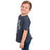Ruby's Rubbish, Have Faith Bro, Kid's Short Sleeve T-shirt, Navy Heather, 2T