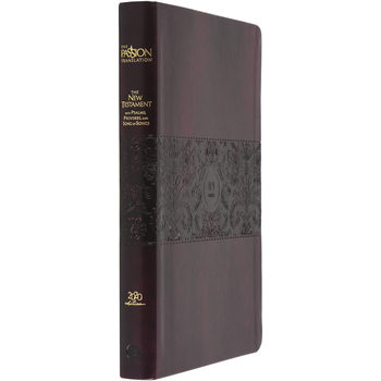 TPT The New Testament: 2020 Edition, Large Print, Duo-Tone, Burgundy
