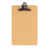 Charles Leonard, Mini Clipboard, Masonite, Two Sided, Smooth, 6 x 9 1/2 inches