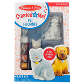 Melissa & Doug, Decorate Your Own Pet Figurines Kit, 3 Inches High, Ages 8 and up
