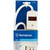 Westinghouse, Six Outlet Surge Protector, 245 Joules, White, 1 Each
