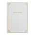 CSB Family Bible, Duo-Tone, White and Gold