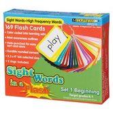 Sight Words Flash Cards Gr 1-2