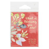 Universal Designs, Genesis 12:2 What A Blessing You Are Magnet, 2 1/2 x 3 1/4 inches