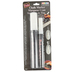 Uchida, Bistro Chalk Marker Set, Chisel Tip and Fine Point, White, Pack of 2