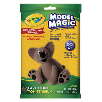 Crayola, Model Magic Modeling Compound, Earthtone, 4 ounces