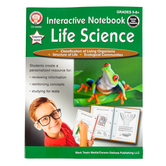 Carson-Dellosa, Interactive Notebook Life Science Resource Book, 64 Pages, Grades 5-8 and up