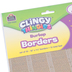Teacher Created Resources, Clingy Thingies Burlap Straight Border Trim, 13 Feet x 1-3/8 Inches, Natural