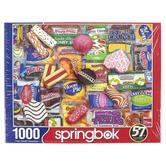 Springbok, Snack Treats Puzzle, 1000 Pieces, 24 x 30 Inches