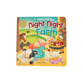 Night Night, Farm Touch And Feel, by Amy Parker and Virginia Allyn, Board Book
