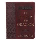 Christian Art Gifts, El Poder de la Oracion, by E. M. Bounds, Imitation Leather, Brown