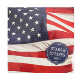 DaySpring, Stars & Stripes 2021 Wall Calendar, Paper, 12 x 12 inches