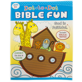 Dot-to-Dot Bible Fun Activity Book, Paperback, 48 Pages, Ages 3 and up