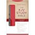 KJV Women's Study Bible, Duo-Tone, Tan and Pink, Thumb Indexed