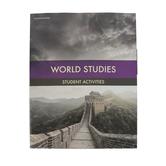 BJU Press, World Studies Student Worktext, 4th Edition, Paperback, Grade 7
