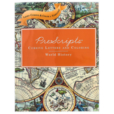 Classical Conversations, PreScripts Cursive Letters and Coloring World History, Spiral, Grades PK-2
