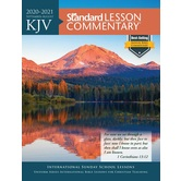 KJV Standard Lesson Commentary 2020-2021: Large Print Edition, by David C. Cook, Paperback