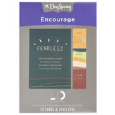 DaySpring, Sadie Robertson Encouragement Boxed Cards, 12 Cards with Envelopes