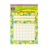Teacher Created Resources, Lemon Zest Incentive Chart, 17 x 22 Inches