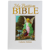 Christian Brands, My Baptism Bible, White, 5 x 6 3/4 Inches