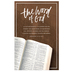 Salt & Light, The Word Of God Church Bulletins, 8 1/2 x 11 inches Flat, 100 Count