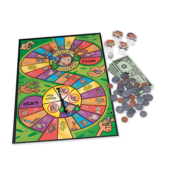Learning Resources, Money Bags-A Coin Value Game, Ages 7 Years and Older, 2 to 4 Players