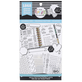 MAMBI, The Happy Planner®, Journaling Classic Value Sticker Pack, 1868 stickers