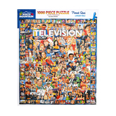 White Mountain, Television History Puzzle, 1000 Pieces, 24 x 30 Inches