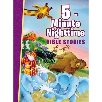 5-Minute Nighttime Bible Stories, by Thomas Nelson, Hardcover