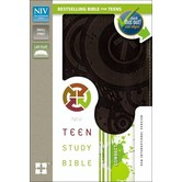 NIV Teen Study Bible Compact, Duo-Tone, Multiple Colors Available