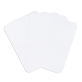 Blank Playing Cards, White, 2.5 x 3.5 Inches, Pack of 52