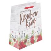 Renewing Faith, Glory To The Newborn King Medium Gift Bag, 11 1/2 x 9 1/2 x 4 1/2 inches
