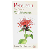 Peterson First Guide to Wildflowers, Paperback, Grades 3-12 and adults