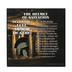 Dicksons, Ephesians 6:13-17 Armor of God Helmet of Salvation Plaque, MDF, 3 3/4 x 3 3/4 x 3/4 inches