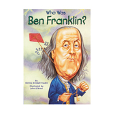 Who Was Ben Franklin?, by Dennis Brindell Fradin and John O'Brien