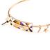 Modern Grace, Matthew 10:8 Freely Give Adjustable Bangle Bracelet, Zinc Alloy, Gold