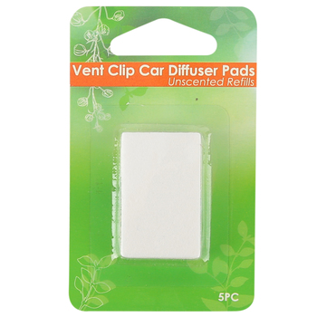 Cali Car Diffuser and Pods, Black, 2 3/4 x 1 x 2 Inches