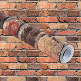 Renewing Minds, Aged Brick Bulletin Board Paper, 48-inches  x 50-foot Roll