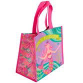 Stephen Joseph, Mermaid Recycled Gift Bag, 9 1/2 x 9 x 5 1/2 inches